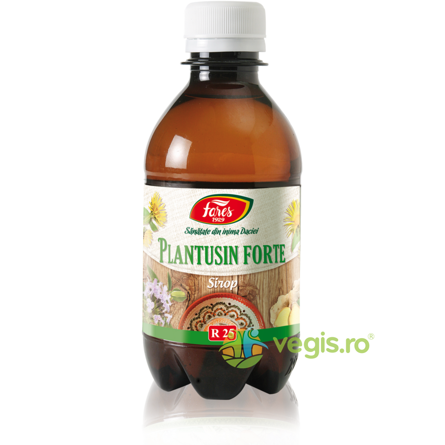 Sirop Plantusin Forte (R25) 250ml imgine