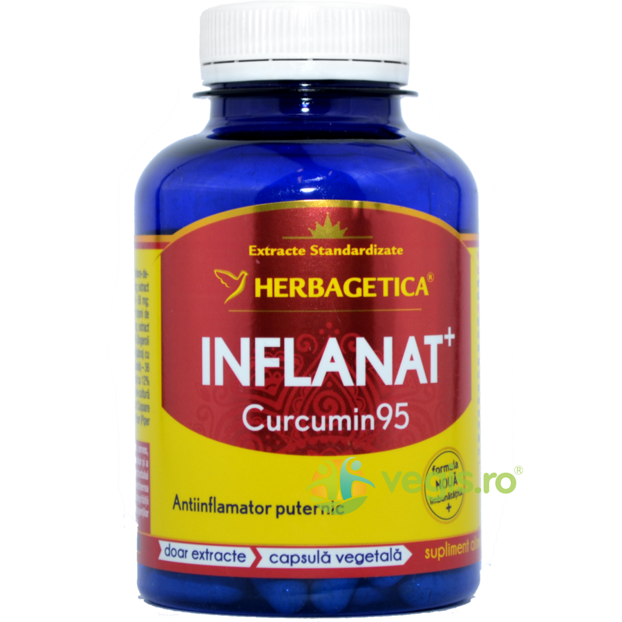 HERBAGETICA Inflanat Curcumin 95 120cps