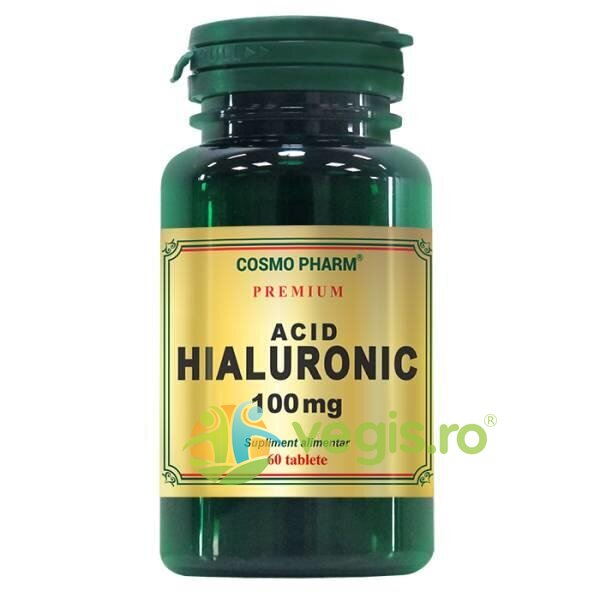 Acid Hialuronic 100mg 60tb Premium