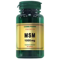 MSM 1000mg 60cpr Premium COSMOPHARM