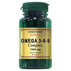 Omega 3-6-9 Complex 1206mg 60cps Premium COSMOPHARM