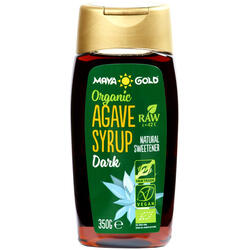 Sirop De Agave Dark & Raw Ecologic/Bio 350g/250ml MAYA GOLD