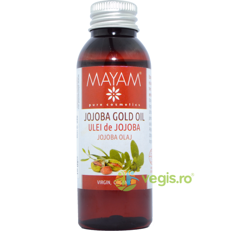 MAYAM Ulei De Jojoba Eco/Bio Virgin 50ml