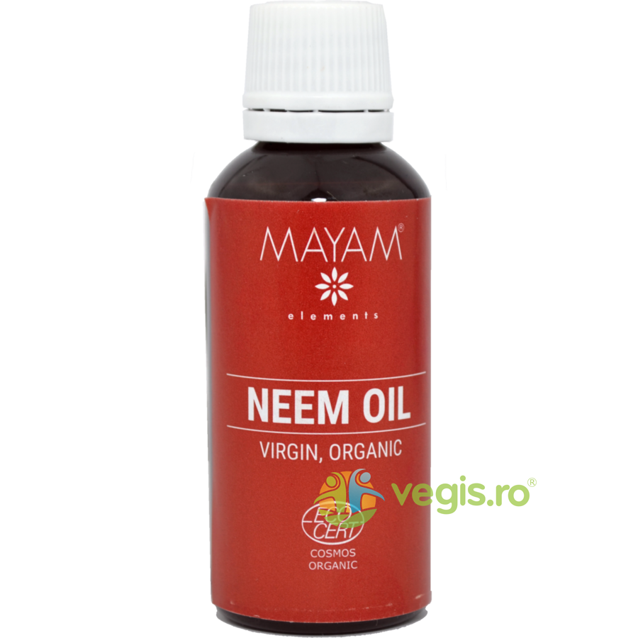 MAYAM Ulei De Neem Eco/Bio Virgin 50ml