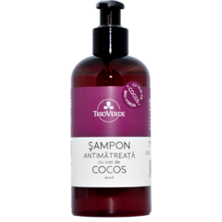 Sampon Antimatreata Cu Ulei De Cocos 250ml TRIO VERDE