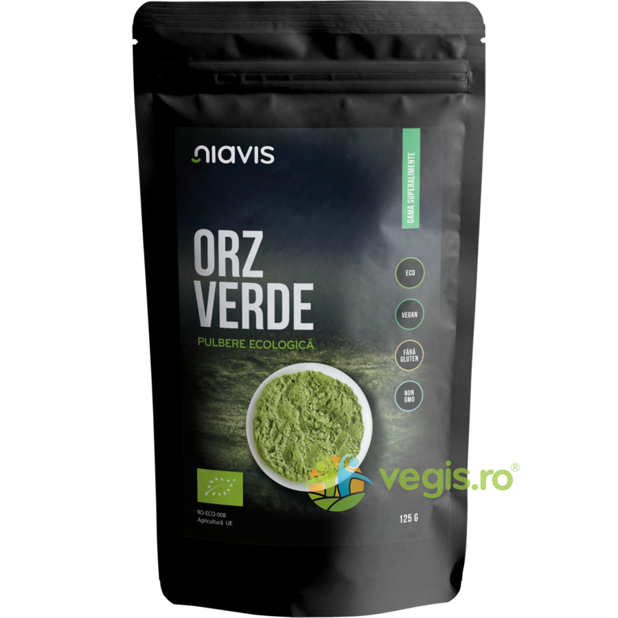 Orz Verde Pulbere Ecologica/Bio 125g imgine
