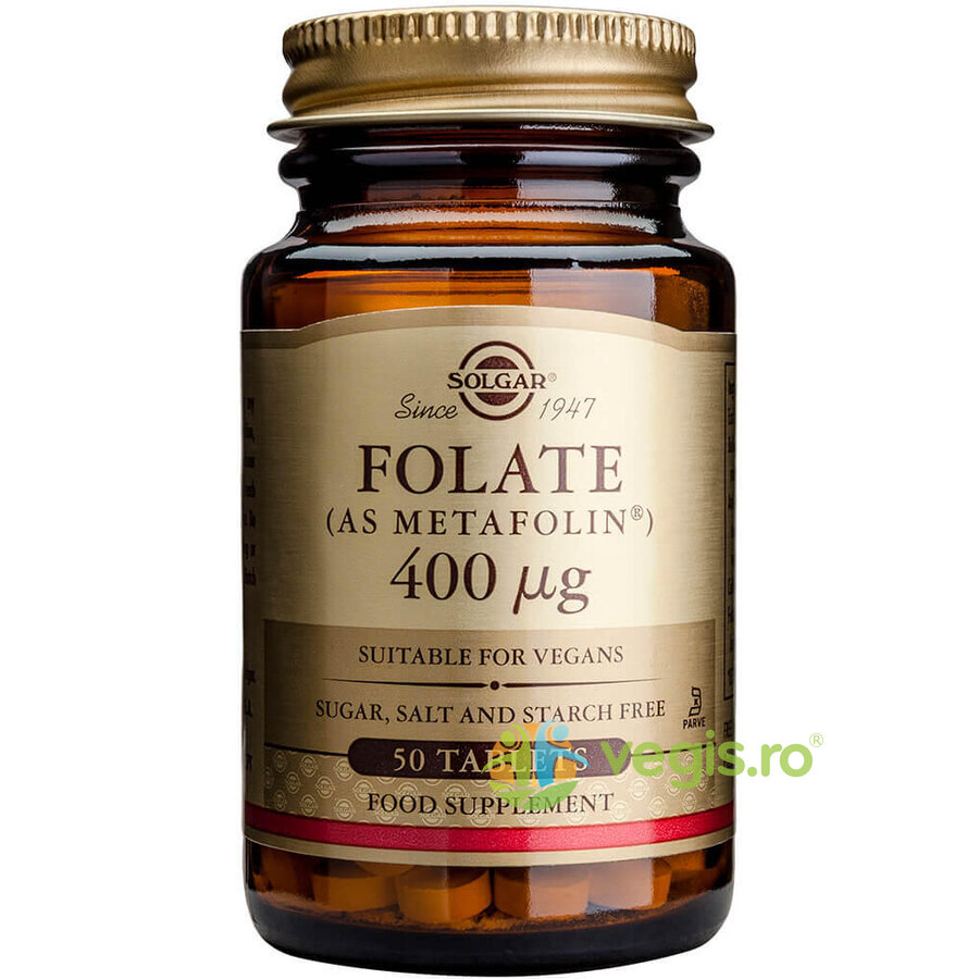 Folate 400ug 50tb (ca Metafolin)