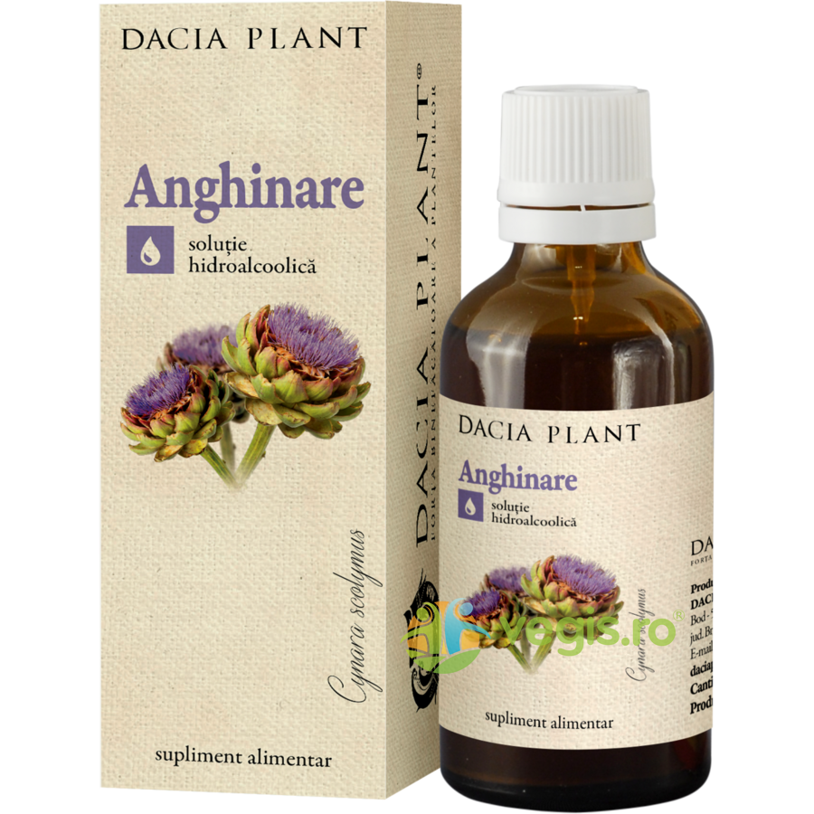 Tinctura De Anghinare 50ml