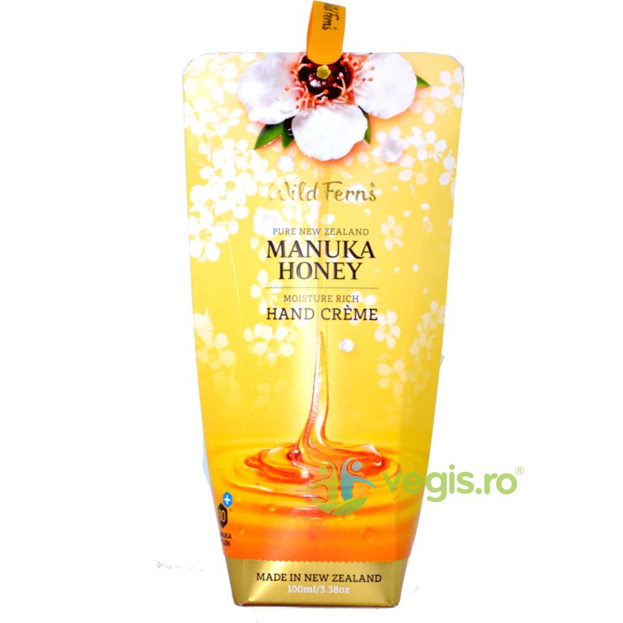 Manuka Honey - Crema de Maini Intensiv Hidratanta cu Miere de Manuka 100ml thumbnail