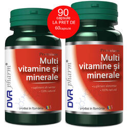 Multivitamine Si Minerale 60cps+30cps