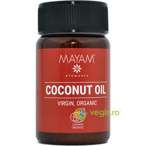 Ulei De Cocos Virgin Eco/Bio 100ml MAYAM