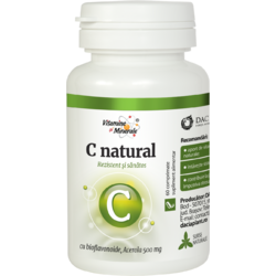 (Vitamina C) C Natural 60Cpr Masticabile DACIA PLANT