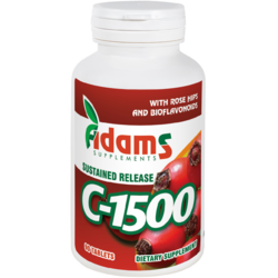 Vitamina C 1500mg Macese 90tb ADAMS VISION