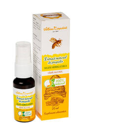 Extract Natural de Propolis Solutie Hidroglicerica Spray 20ml