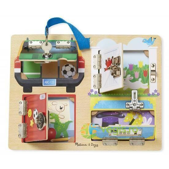 Joc de indemanare Incuietorile - Melissa and Doug MELISSA & DOUG