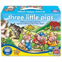 Three Little Pigs - Joc de societate: cei trei purcelusi ORCHARD TOYS