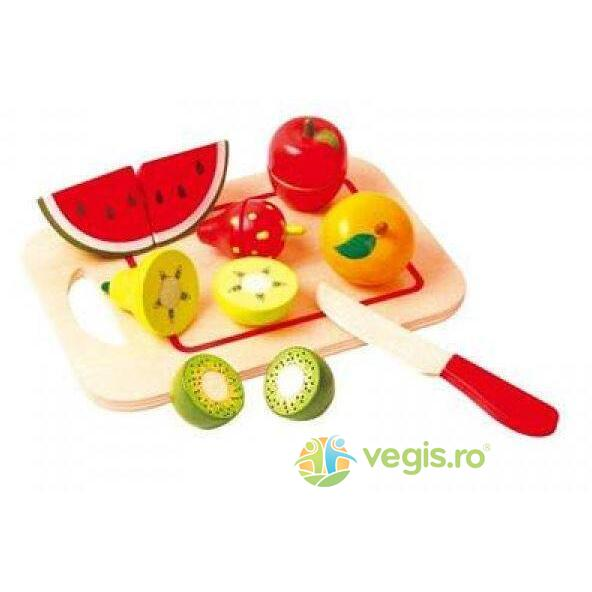 Cutting Fruit - Platou cu fructe NEW CLASSIC TOYS