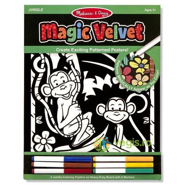 Poster de colorat Catifeaua magica Melissa and Doug 5 ani+