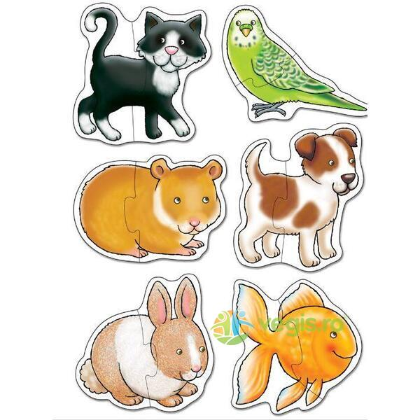Pets. Set 6 Puzzle (2 piese) ORCHARD TOYS