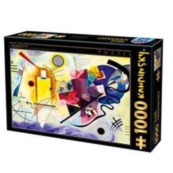Puzzle 1000 W. Kandinsky - Yellow-Red-Blue
