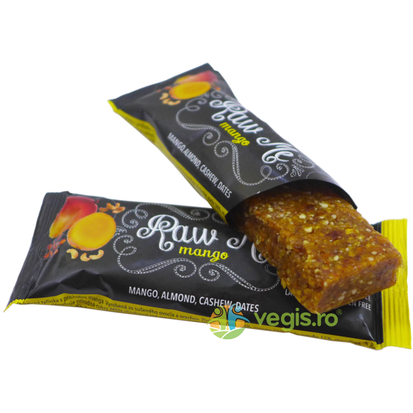Baton Raw cu Mango 45g RAW ME BAR