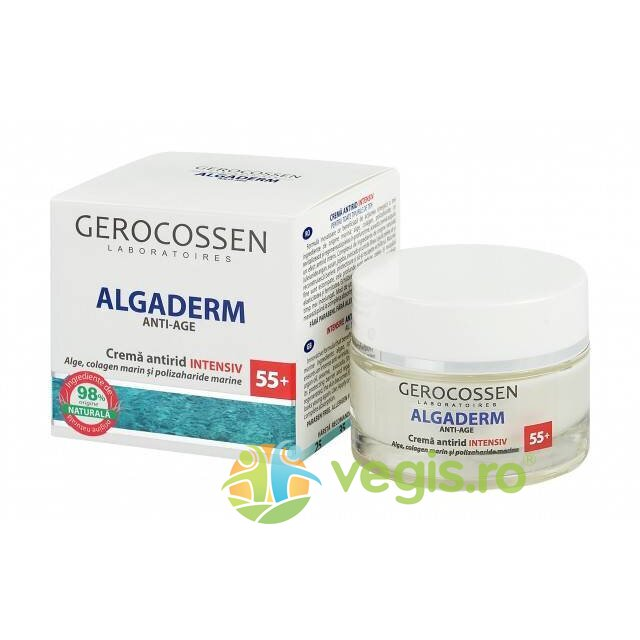 GEROCOSSEN Crema Antirid Intensiv 55+ Algaderm 50ml