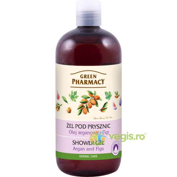 Gel de Dus cu Ulei de Argan si Smochine 500ml GREEN PHARMACY