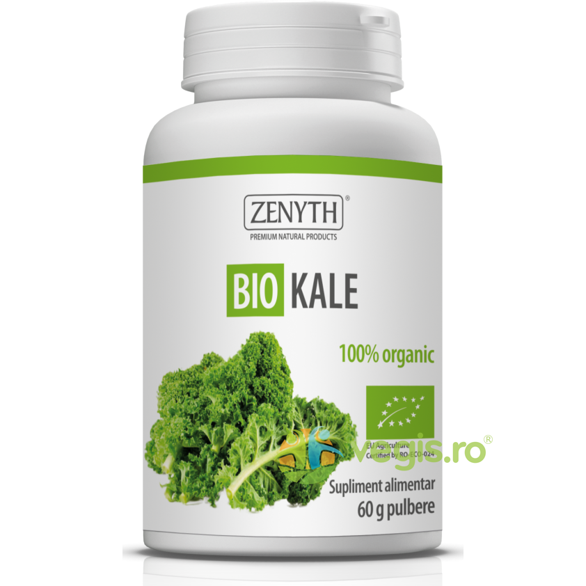 ZENYTH PHARMA Kale Pulbere Ecologica/Bio 60g