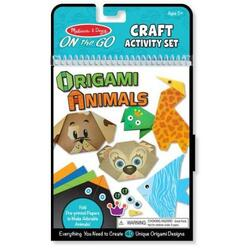 Melissa and Doug: Origami. Animale colorate 6 Ani+