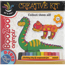 Creative Kit: Plastilina. Boo-Zoo Animale (68071-3)