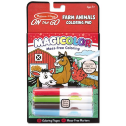 Carnetel de colorat Magicolor - Animale de la ferma Melissa and Doug