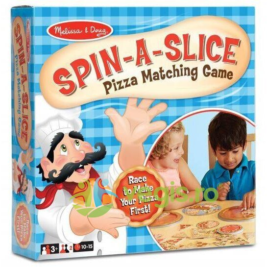 joc educativ speedy pizza 3 ani+ melissa and doug