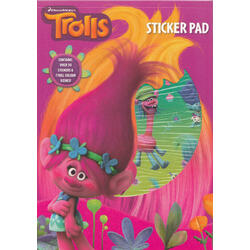 Trolls Carte cu stickere (Sticker Pad) ANKER INTERNATIONAL