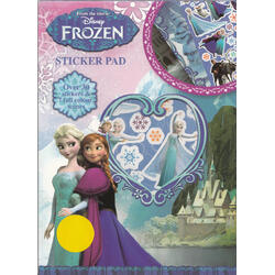 Frozen Carte cu stickere (Sticker Pad) ANKER INTERNATIONAL