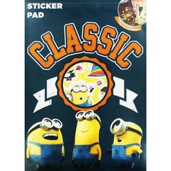 Despicable Me Carte cu stickere (Sticker Pad)