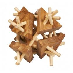 Bamboo puzzle - Iq test FRIDOLIN