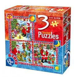 Puzzle Craciun 3 in 1