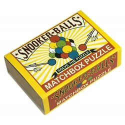 Matchbox Puzzle - Snooker Balls PROFESSOR PUZZLE LTD.