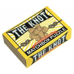 Matchbox Puzzle - The Knot PROFESSOR PUZZLE LTD.