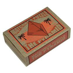 Matchbox Puzzle - The Pyramid PROFESSOR PUZZLE LTD.
