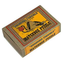 Matchbox Puzzle - Bermuda Triangle PROFESSOR PUZZLE LTD.