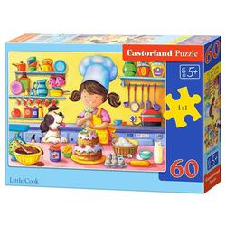 Puzzle 60 Castorland - Little Cook