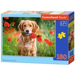 Puzzle 180 Castorland - Flowers for You