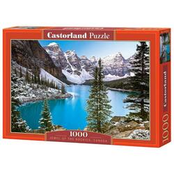 Puzzle 1000 Castorland - Jewel of the Rockies