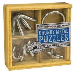 Puzzle Academy - Chunky Metal Puzzles PROFESSOR PUZZLE LTD.