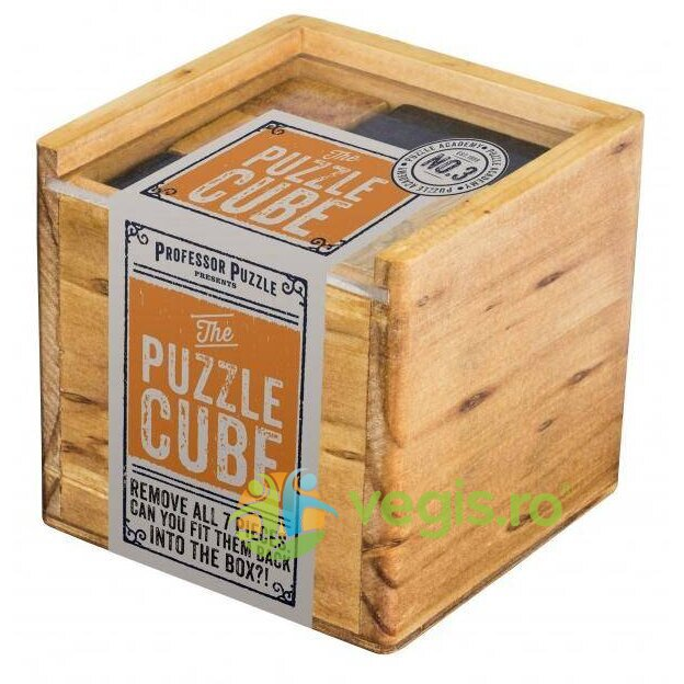 puzzle academy - the puzzle: cube - cubul