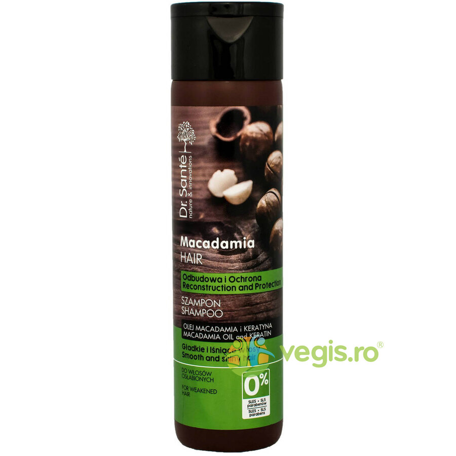DR SANTE Macadamia Hair Care Sampon pentru Par Slabit 250ml