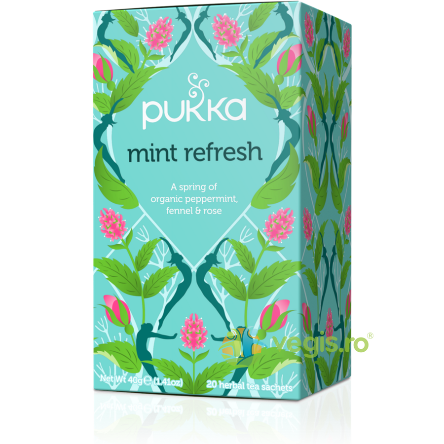 PUKKA Ceai Mint Refresh Ecologic/Bio 20dz