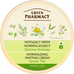 Crema de Fata Matifianta cu Extract de Ceai Verde 150ml GREEN PHARMACY