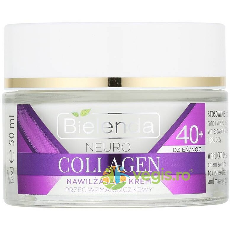 NEURO COLLAGEN Crema concentrata de fata hidratanta anti-rid 40+ zi/noapte 50ml imagine